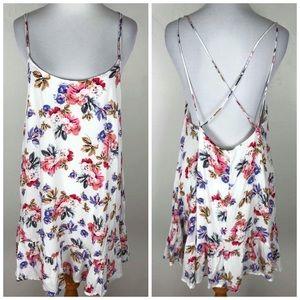 NWT Cotton Candy LA White Floral Slip Dress